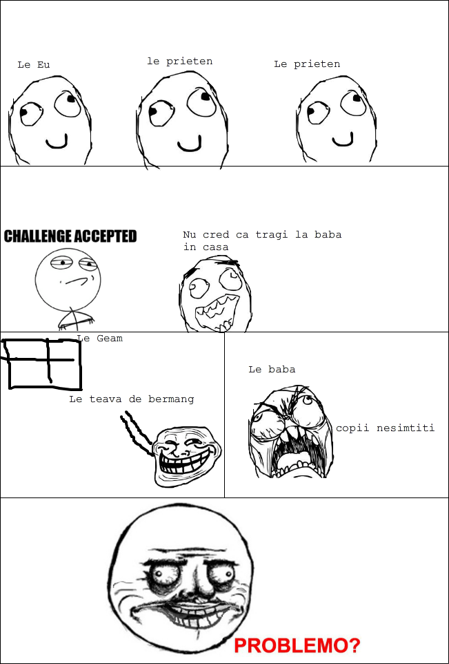 Troll Face Comics Challenge Accepted | www.pixshark.com ...