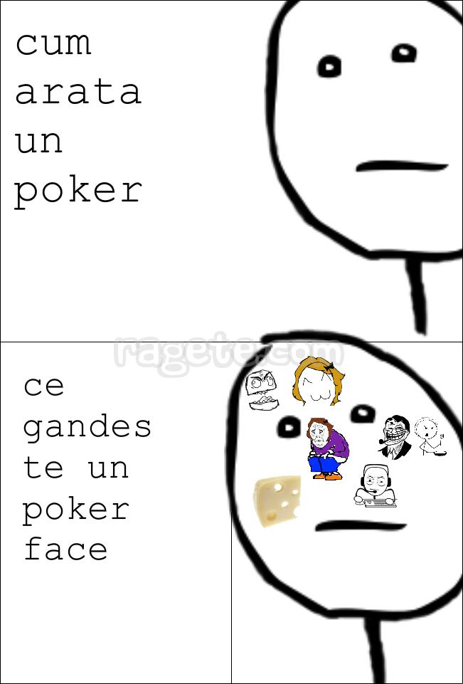 Best poker face rage comics