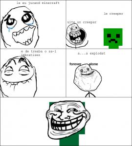 minecraft | Rage Comics Romania Y U No Meme