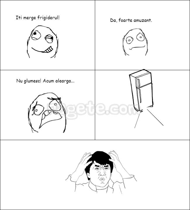 Frigiderul (Primul meu Rage Comic)