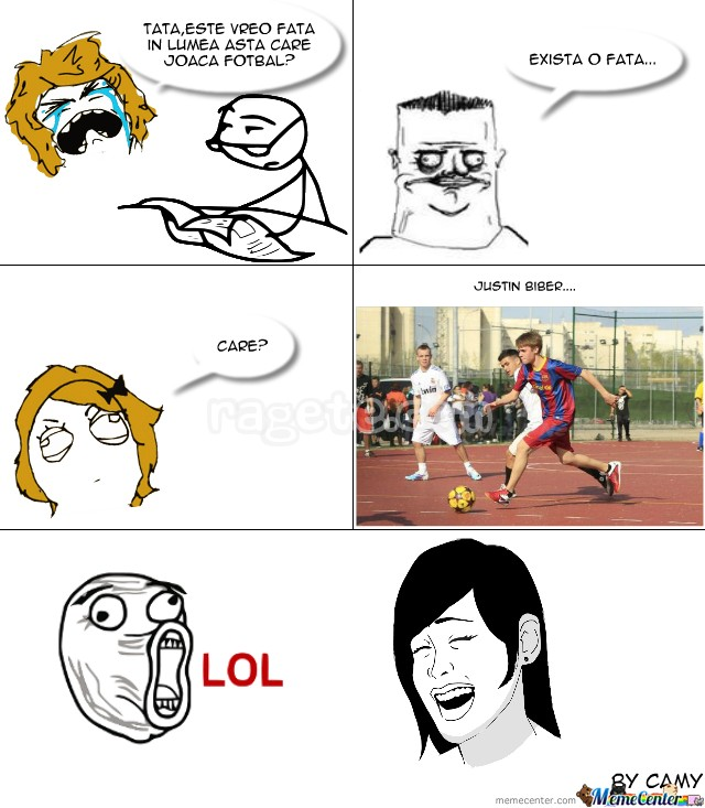 Fotbalista...