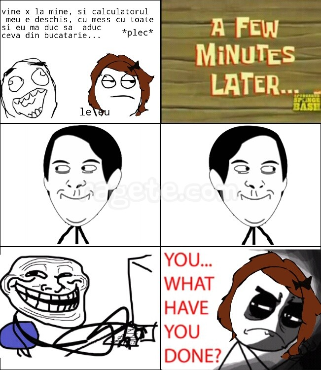 typing troll