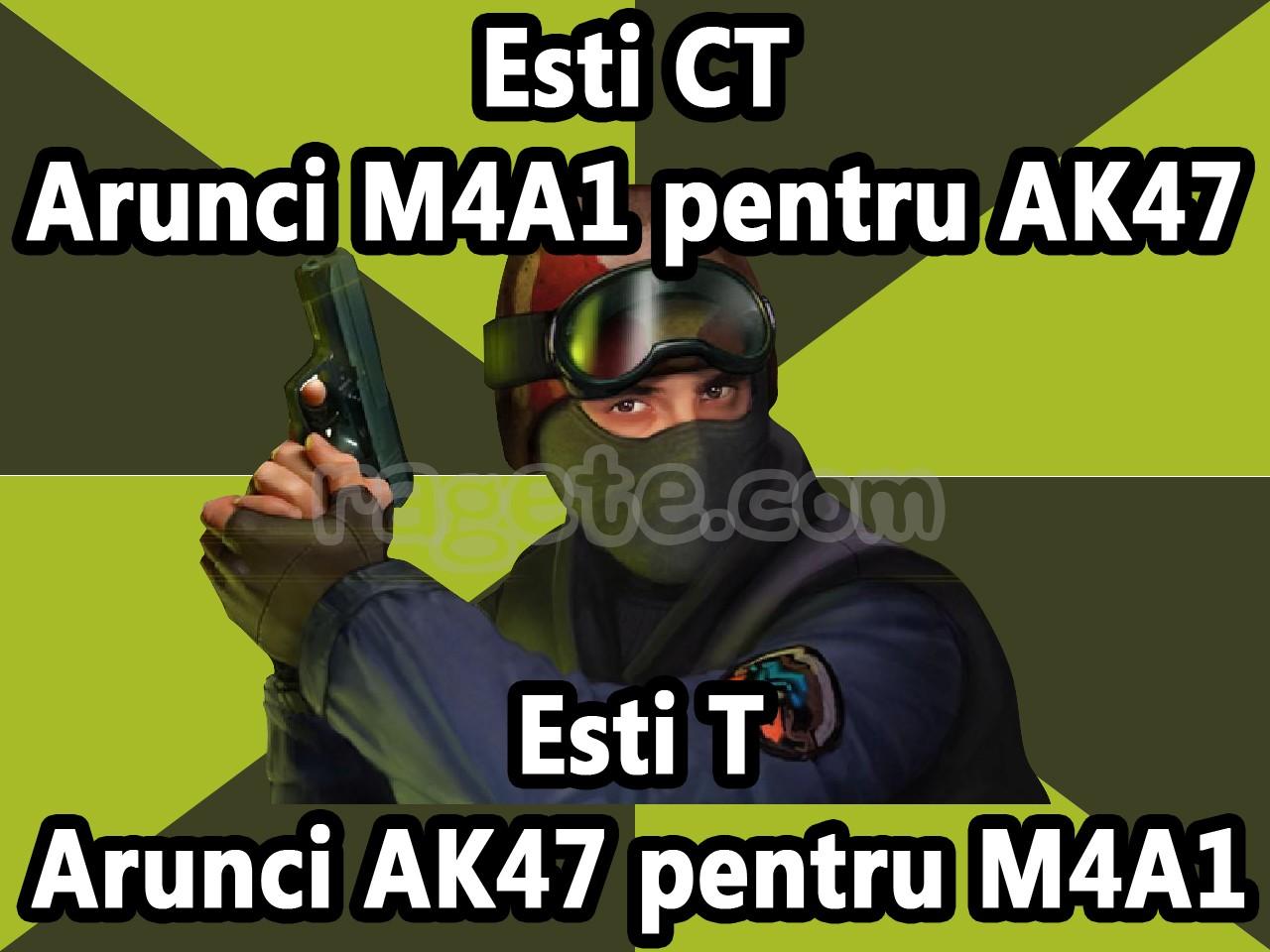 AK47 VS M4A1